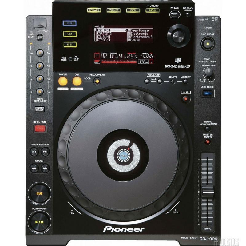 pioneer djm 800 back